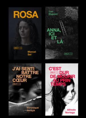 Design éditorial et communication pour la maison d'édition ONLIT