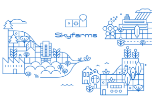 skyfarms — identité illustrative