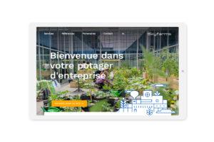 skyfarms — design site web wordpress et woo commerce