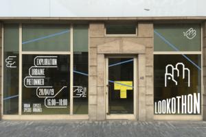 Urban Species — Signalétique extérieure sur le piétonnier à Bruxelles