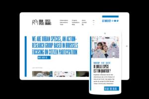 Urban Species — Site web design responsive avec Bien à vous