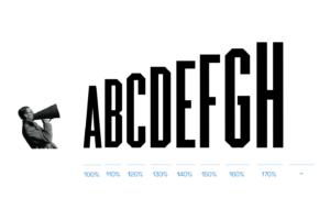 Urban Species — Attitude typographique de l'identité visuelle