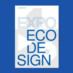 Catalogue d'exposition éco design à Bruxelles par le studio Alvin